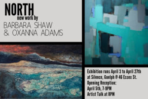 """North"" opening April 3rd in Guelph"