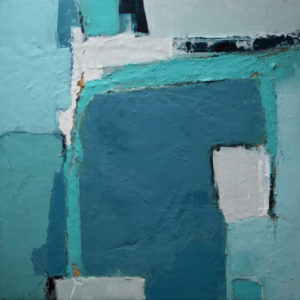 """Frozen in time, oil on wood panel, 17 1/2""""X17 1/2"""""""